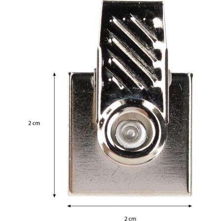 Banzaa Ophang clips om Handdoeken of Theedoeken op te Hangen voor in de Badkamer of Keuken 10 Stuks – 2x2x2cm | Zelfklevende Ophanghaakjes voor aan de Muur