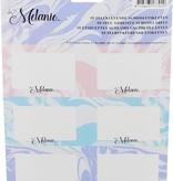 LaMelanie La Melanie Schoolpakket met Potloden, Gummen, Pennen en Zelfklevende Schooletiketten – 19x3x1cm