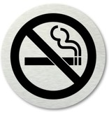 Banzaa Deurbordje Verboden te Roken – 7cm – WC Bordje – Pictogram