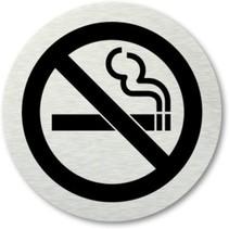 Deurbordje Verboden te Roken – 7cm –