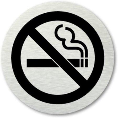 Banzaa Toiletbordje Verboden te Roken – 7cm  – Wc Bordje – Pictogram