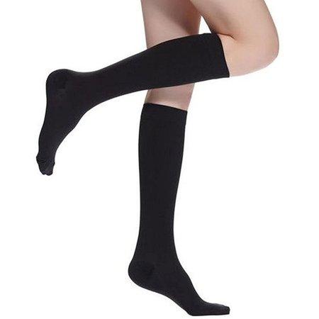 Banzaa Miracle Socks Unisex Compressiesokken Zwart 1 Paar Bekend van tv – One Size cm | Vliegtuigsokken | Compressiekousen