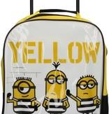 Minions Verschrikkelijke Ikke Minion Trolley 'Yellow is the new Black' – 33x27x12cm   Reiskoffertje voor Kinderen Despicable Me   Suitcase voor Jongens en Meisjes