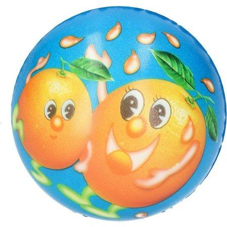Banzaa Stressbal Medium Density – 10 cm – Sensomotorische Stimulatie – Anti Stress – 2 Stuks – Fruit