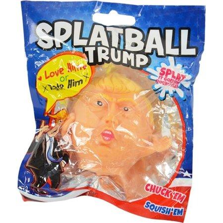 Banzaa Donald Trump Water Stressbal – 7cm   Stress Speelgoed   Versterking van de Hand, Pols en Onderarm   Stress Speelgoed