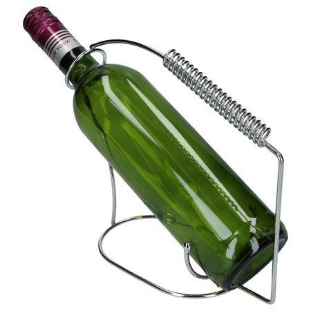 Banzaa Luxe en Moderne Wijnfleshouder Industrial Design – 19x10cm | Houdt de wijnfles in de Juiste Positie | Wijnfles Houder en Schenker