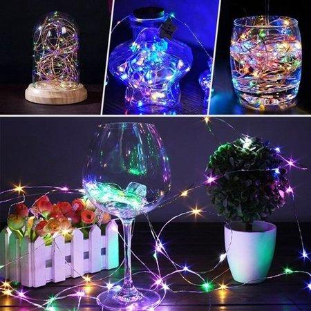 Banzaa 40 Led Verlichting Multicolor voor Indoor Gebruik – 420cm | Lichtsnoer Lampjes voor Feesten en Partijen | Sfeerverlichting