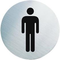 Toiletbordje Man – 6,5 cm – WC Bordje
