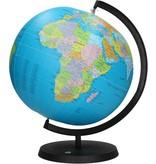 Banzaa Opblaasbare 2 in 1 Wereldbol met Standaard – 36x32x28cm   Globe Bal Aarde