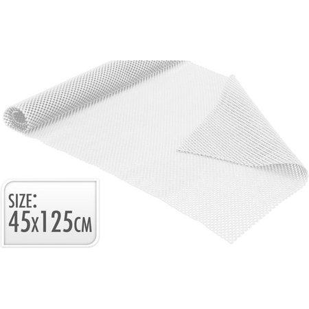 Banzaa Antislipmat 45 x 125 cm – Antislip Onderkleed op Rol – Wit