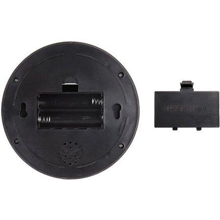 Banzaa Premium 1x Dummy LED Beveiligingscamera met Bewegingssensor – 12x8cm – Zwart – 1 Stuks | Draadloze Nepcamera Met Rode Led op Batterijen | Knipperende Camera Beveiliging Voor Binnen en Buiten | Buitencamera | CCTV Dome Bewakingscamera