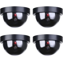 4x Dummy LED Beveiligingscamera met Bewegingssensoren