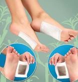 Banzaa Premium Detox Voetpleisters Set – 100 Stuks – Bekend van TV | Helpt tegen Depressie, Futloosheid, Irritatie, Gewichtstoename en Meer Lichamelijke Klachten | Voetenpads Ontgiften het Lichaam | Ontgiftende Voeten Pleisters | Voet Pads | Voetenpleisters