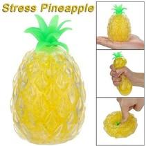 Ananas Stressbal met Waterparels – 10x7cm