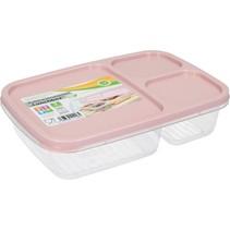 Lunchbox met Deksel 1,2 Liter Oudroze