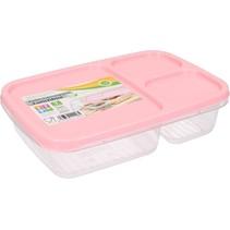 Lunchbox met Deksel 1,2 Liter  Roze
