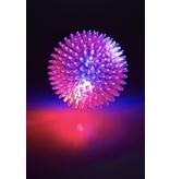 Banzaa Disco Meteoor Stressbal Roze – 8cm   Massagebal met Disco Effect   Versterking van de Hand Pols en Onderarm   Stresspeelgoed   Lacrosse Bal   Triggerpoints
