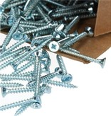 Benson Benson Tools Spaanplaatschroeven 200 Stuks Verzinkt – 4.0x50mm | Spaanplaatschroeven voor Verwerking in Dragende Houtconstructies