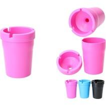 Premium Roze Rookvrije Asbak met Deksel