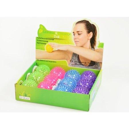 Banzaa Massagebal voor Wellness – Puntige Massage – Triggerpoints – Lacrossebal – Roze