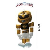 Power Ranger knuffel 50cm goud