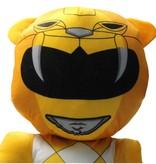 Power Rangers Power Ranger knuffel - pop 50 cm geel