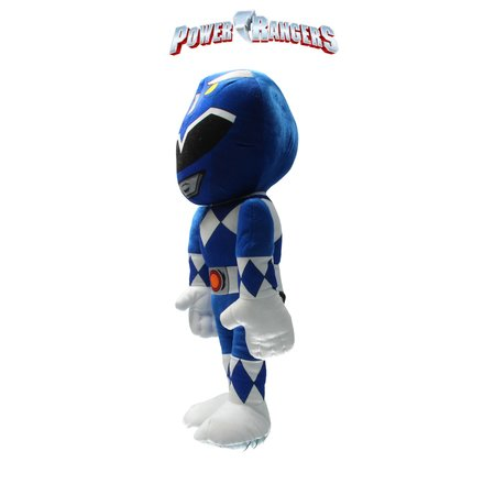 Power Rangers Power Ranger knuffel - pop 50 cm blauw