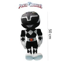 Power Ranger knuffel 50cm zwart