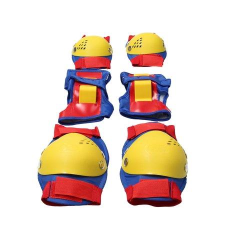 Kings sport Kings sport beschermset - Knie ellenboog pols bescherming - valbescherming kind