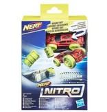 Nerf Nerf Nitro Single Stunt Met Auto Rood