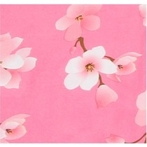 Rekbare Boekenkaft A4 Roze bloem – 40x22cm