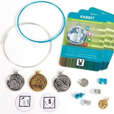 Banzaa Charmazing Wildlife Collection Armbandjes met Dieren bedels – 16x15x3cm | Sieraad met Hangers | Bracelet | Polsbandje | Bedelarmbandjes maken | Armbandjes voor meisjes | Polsbandjes