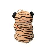 Dinotoys Pluche Knuffel tijger met Hart Love    Valentijnsdag Moederdag romantisch cadeau    15cm