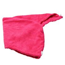 Roze Microvezel Handdoek voor Haar |