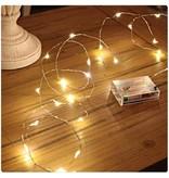 Banzaa 40 ledverlichting Warm Wit voor Indoor Gebruik – 420 cm   Lichtsnoer Lampjes voor Feesten en Partijen   Sfeerverlichting