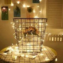 20 ledverlichting Warm Wit voor Indoor Gebruik – 115 cm | Lichtsnoer Lampjes voor Feesten en Partijen | Sfeerverlichting