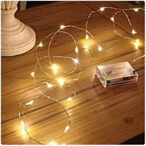 100 ledverlichting Warm Wit voor Indoor Gebruik – 125 cm | Lichtsnoer Lampjes voor Feesten en Partijen | Sfeerverlichting