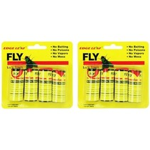 Edge Leaf Fly Vliegpapier 8 Stuks Plakstrook