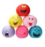 Banzaa Emoji Stressbal Vrolijke gezichtjes - Micropalletvulling - Knijpbal- Geel