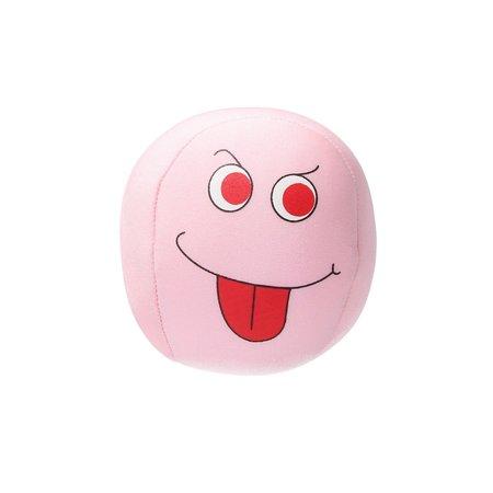 Banzaa Emoji Stressbal Vrolijke gezichtjes - Micropalletvulling - Knijpbal- Licht Roze