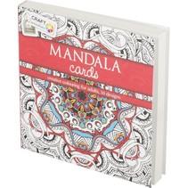 Craft Kleurboek Mandala Cards Rood