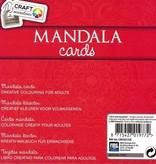 Craft Craft Kleurboek Sensations Mandala Cards Rood