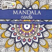 Craft Kleurboek Mandala Cards Blauw