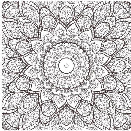 Craft Craft Kleurboek Sensations Mandala Cards Blauw