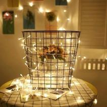 40 ledverlichting warmwit voor Indoor Gebruik – 3 meter | Lichtsnoer Lampjes voor Feesten en Partijen | Sfeerverlichting