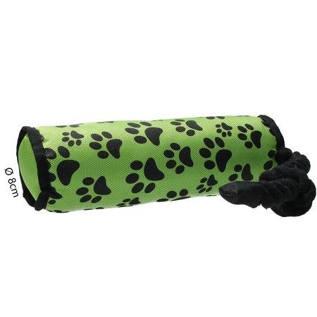 Banzaa Hondenspeelgoed Speeltouw Flostouw Apporteerspeelgoed Groen