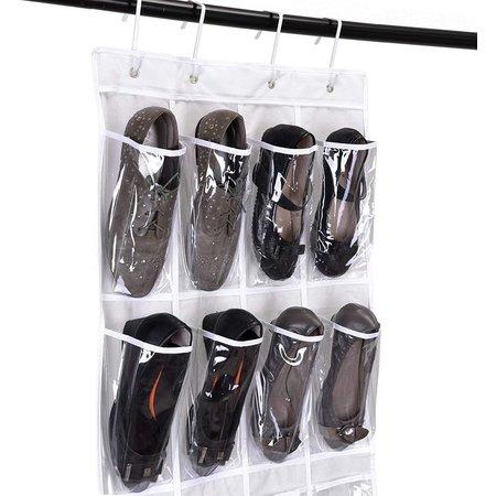 Banzaa Luxe Hangende Schoenen Organizer 24 vakken met 3 ophanghaken voor de deur