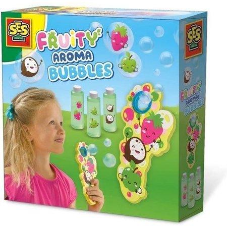 SES SES Fruitgeur bellenblaas 3x200ml