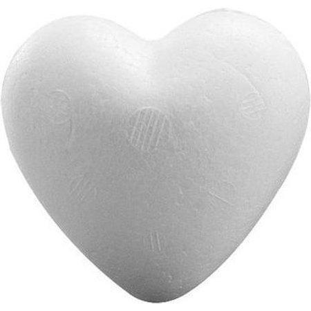 Banzaa 8 stuks Piepschuim harten 9 cm - Styropor vormen