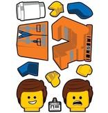 Lego Lego the Movie 2 Emmet Sticker 22x30cm